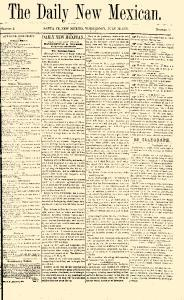Santa Fe New Mexican, July 13, 1870, Page 1