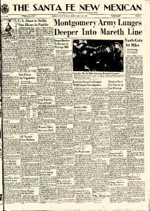Santa Fe New Mexican, March 26, 1943, Page 1