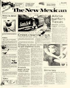 Santa Fe New Mexican, August 18, 1983, Page 1