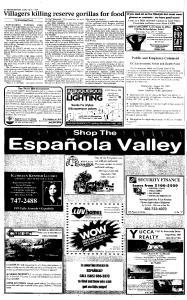 Santa Fe New Mexican, August 01, 1999, Page 16
