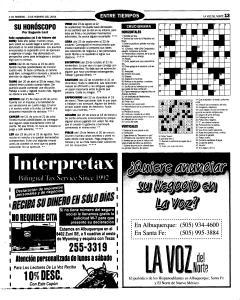Santa Fe New Mexican, February 03, 2005, Page 19