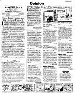 Santa Fe New Mexican, February 07, 2005, Page 3