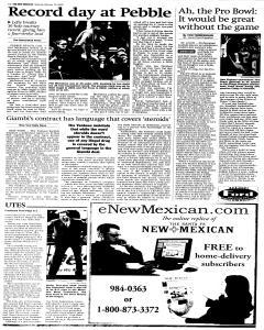 Santa Fe New Mexican, February 12, 2005, Page 18