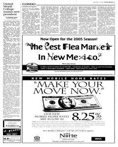 Santa Fe New Mexican, March 11, 2005, Page 13