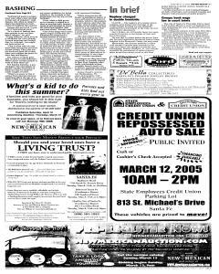 Santa Fe New Mexican, March 11, 2005, Page 17