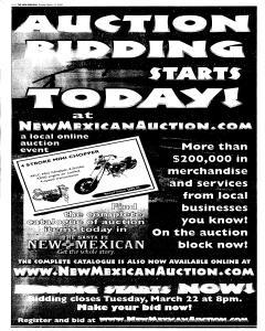 Santa Fe New Mexican, March 13, 2005, Page 26