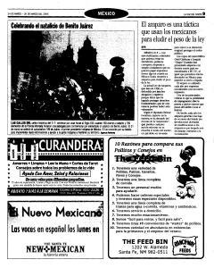 Santa Fe New Mexican, March 24, 2005, Page 37
