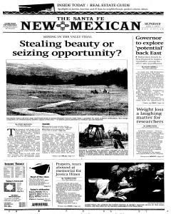Santa Fe New Mexican, June 05, 2005, Page 1