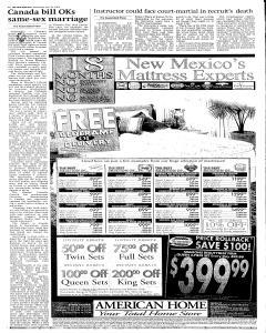 Santa Fe New Mexican, June 29, 2005, Page 8