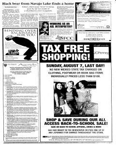 Santa Fe New Mexican, August 07, 2005, Page 15