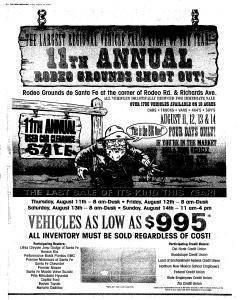 Santa Fe New Mexican, August 12, 2005, Page 16