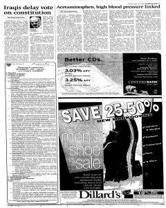 Santa Fe New Mexican, August 16, 2005, Page 3