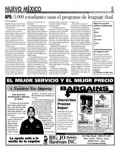 Santa Fe New Mexican, August 18, 2005, Page 35