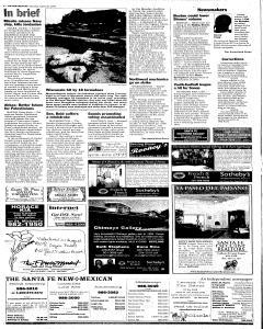 Santa Fe New Mexican, August 20, 2005, p. 2