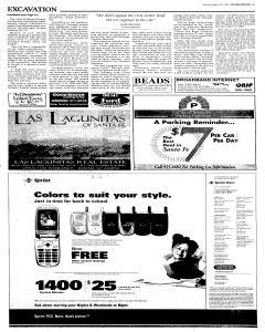 Santa Fe New Mexican, August 20, 2005, p. 5
