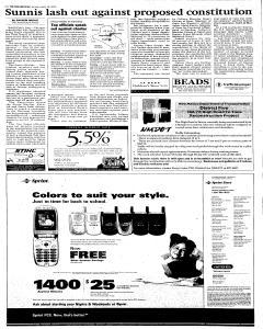 Santa Fe New Mexican, August 28, 2005, Page 4