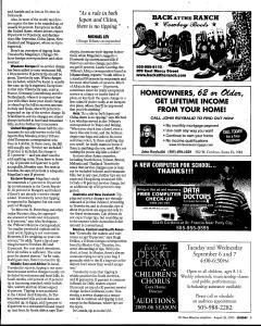 Santa Fe New Mexican, August 28, 2005, Page 89
