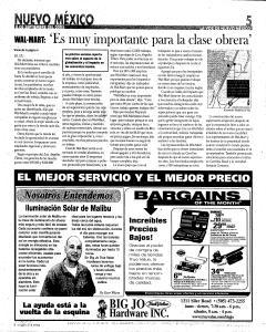 Santa Fe New Mexican, September 08, 2005, Page 35