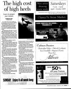 Santa Fe New Mexican, September 11, 2005, Page 105
