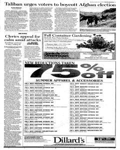 Santa Fe New Mexican, September 17, 2005, Page 3