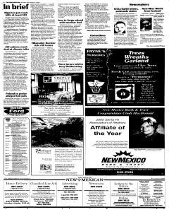 Santa Fe New Mexican, December 11, 2005, Page 2