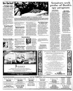 Santa Fe New Mexican, December 21, 2005, Page 2