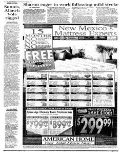 Santa Fe New Mexican, December 21, 2005, Page 10