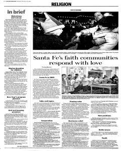 Santa Fe New Mexican, December 31, 2005, Page 26