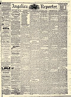 Angelica Reporter, January 31, 1866, Page 1