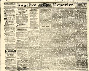Angelica Reporter, February 08, 1866, Page 1