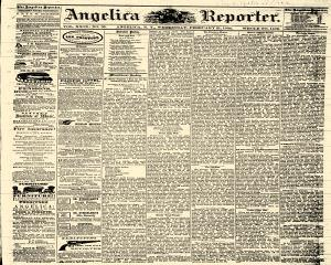 Angelica Reporter, February 21, 1866, Page 1