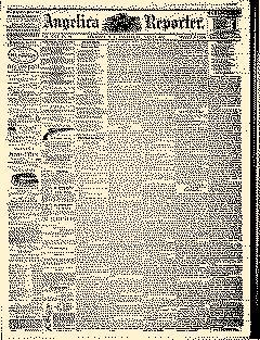 Angelica Reporter, December 12, 1866, Page 1