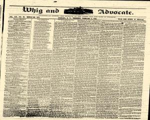 Angelica Whig and Advocate