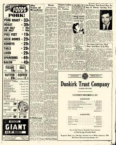 Dunkirk Evening Observer, January 02, 1958, Page 7