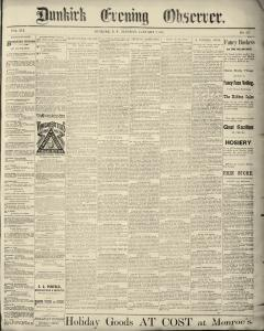 Dunkirk Evening Observer, January 07, 1890, Page 2