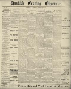 Dunkirk Evening Observer, February 25, 1890, Page 2