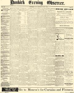 Dunkirk Evening Observer, July 07, 1890, Page 1