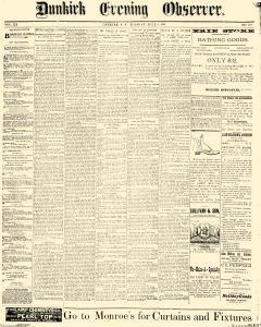 Dunkirk Evening Observer, July 08, 1890, Page 1