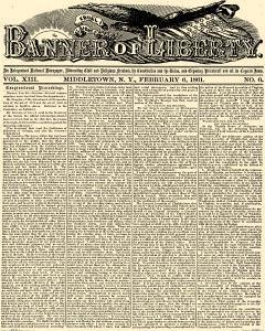Banner Of Liberty, February 06, 1861, Page 1