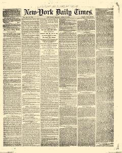 New York Daily Times, April 17, 1854, Page 1