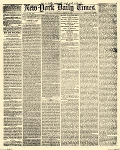 New York Daily Times, March 28, 1855, Page 1