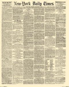 New York Daily Times, September 13, 1855, Page 1