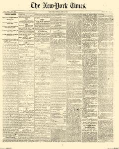New York Times, April 04, 1869, Page 1