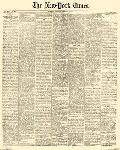 New York Times, February 01, 1873, Page 1