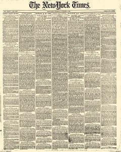New York Times, October 09, 1884, Page 1
