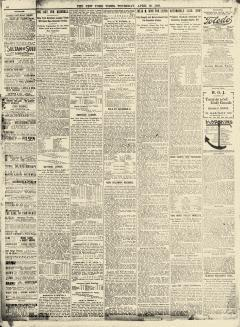 New York Times, April 30, 1903, Page 10