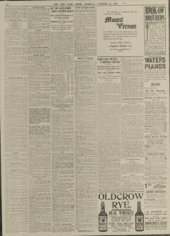 New York Times, October 24, 1905, Page 10