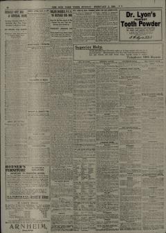 New York Times, February 02, 1908, Page 12