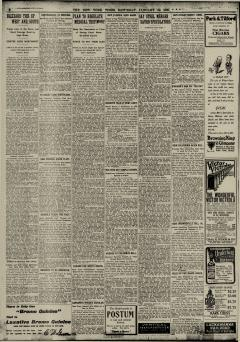 New York Times, January 30, 1909, Page 2
