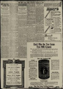 New York Times, January 30, 1909, Page 5